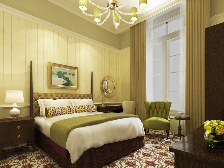 Tokyo Station Hotel - Guest Rooms