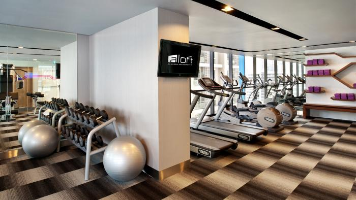 Aloft Bangkok - Gym