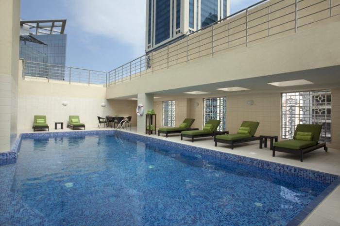 Ascott Doha - Pool