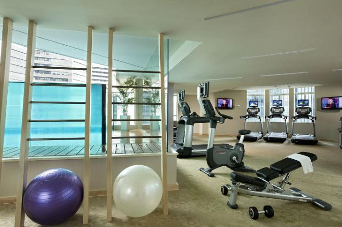 Ascott Raffles Place Singapore - Gym