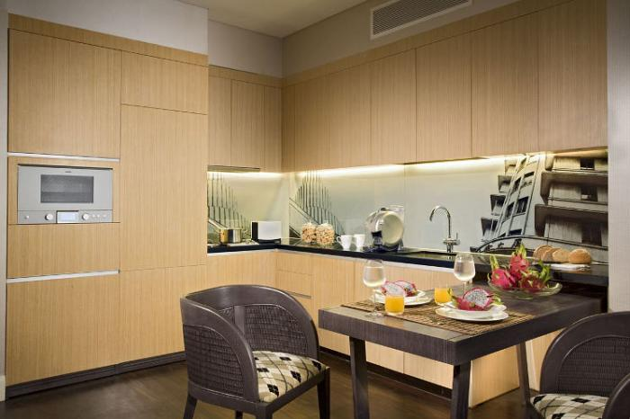 Ascott Raffles Place Singapore - Kitchen