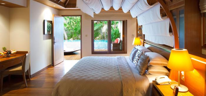 Baros Maldives - Residence Bedroom