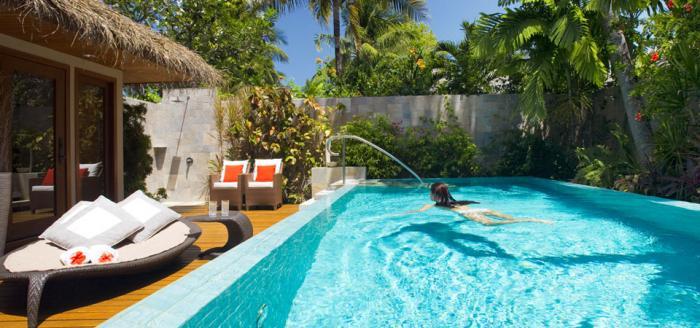 Baros Maldives - Residence Pool