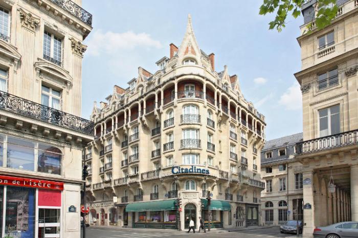 Citadines Suites Louvre Paris - Exterior