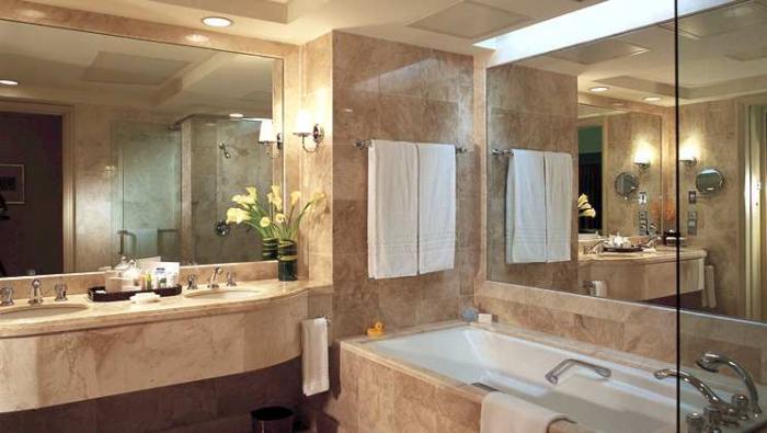Conrad Centennial Singapore - Classic Bathroom