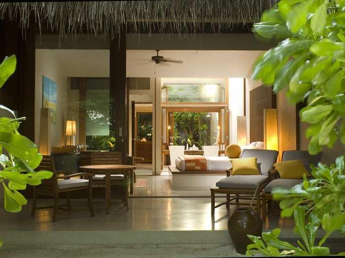 Conrad Maldives Rangali Island - Beach Villa