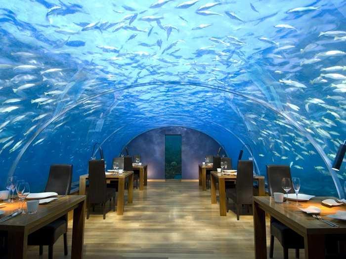 Conrad Maldives Rangali Island - Underwater Restaurant