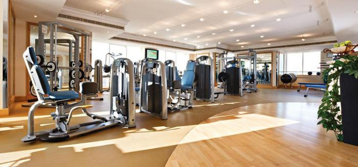 Fairmont Dubai - Gym