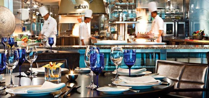 Fairmont Dubai - Restaurant