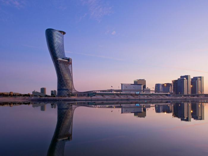 Hyatt Capital Gate Abu Dhabi - Exterior