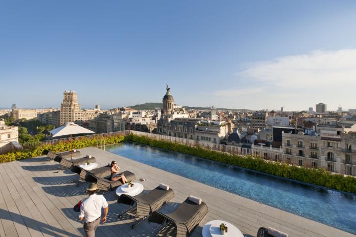Mandarin Oriental Barcelona - Pool