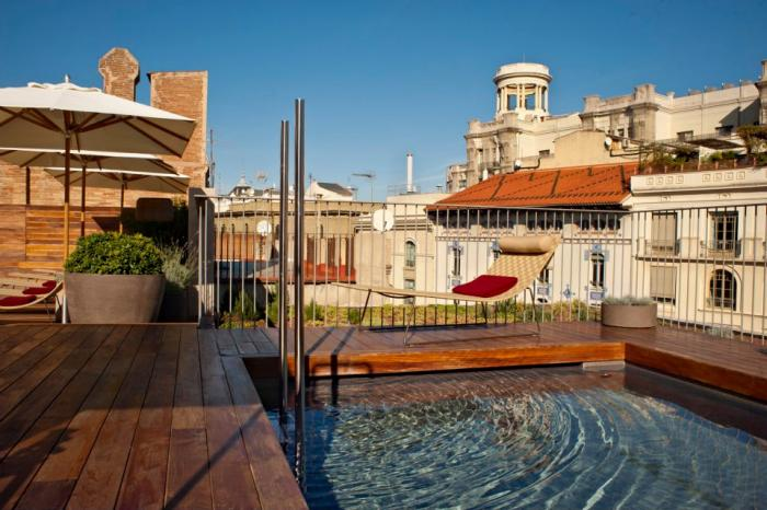 Mercer Hotel Barcelona - Pool