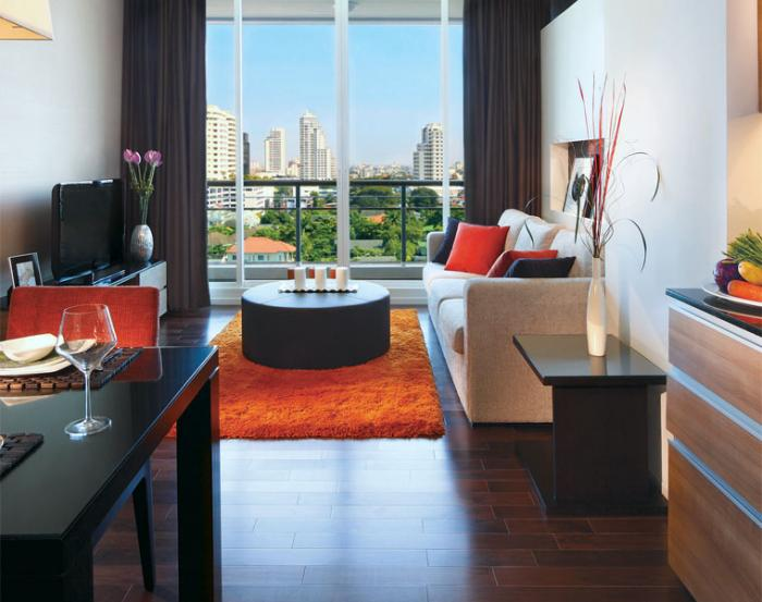 Pan Pacific Serviced Suites Bangkok - Suite