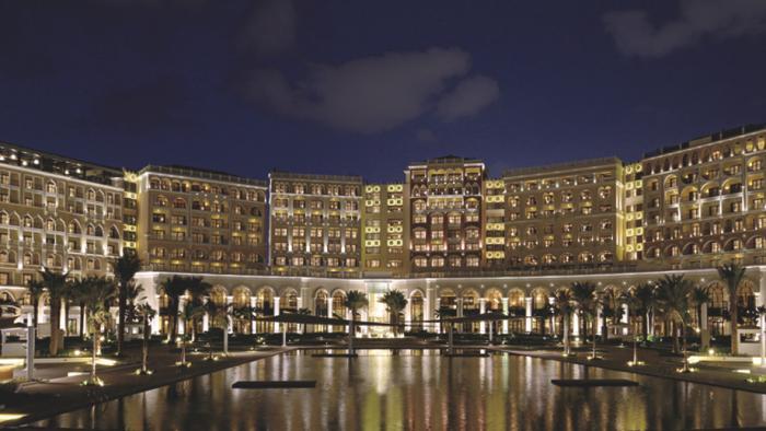 Ritz-Carlton Abu Dhabi, Grand Canal - Exterior