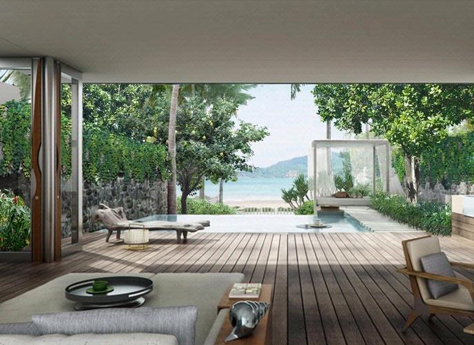 Rosewood Phuket - Beach Villa