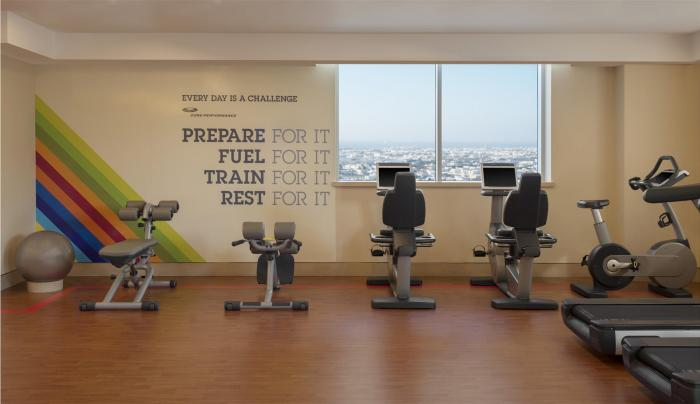 Sheraton Dubai Mall of the Emirates - Gym