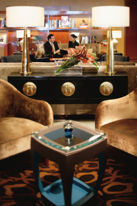The Landmark Mandarin Oriental, Hong Kong - Lounge