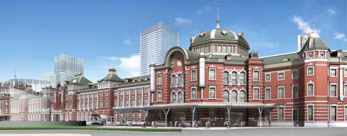 Tokyo Station Hotel Exterior