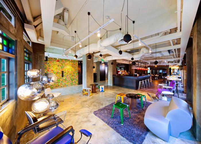 Wanderlust Hotel Singapore - Lobby