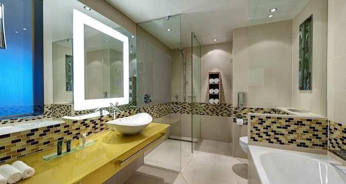 Hilton Frankfurt Airport Hotel - Bathroom