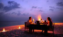 Angsana Ihuru, Maldives - Outdoor Restaurant