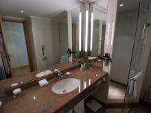 Hilton Frankfurt - Executive Room Bathroom
