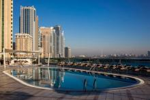 Hilton Sharjah - Pool Lagoon View