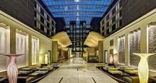Hilton Frankfurt Airport Hotel - Lobby