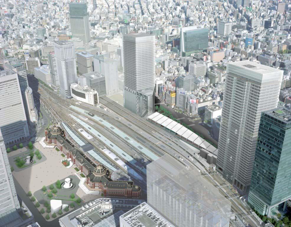 Tokyo Station Hotel Location