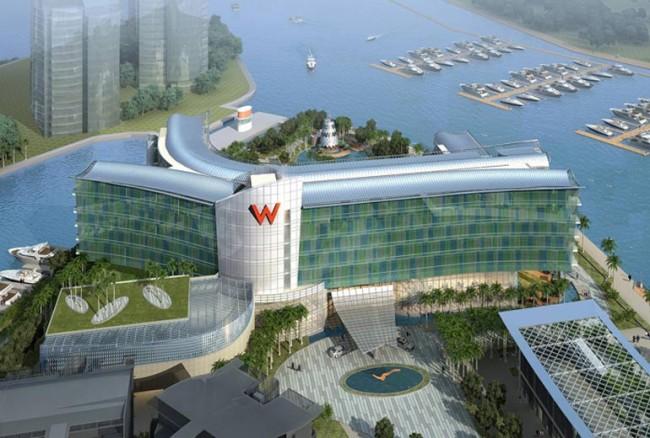 W Singapore - Sentosa Cove Hotel Exterior